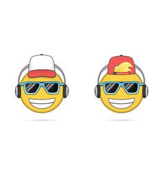 Music Listening Emoji Vector Images (72)