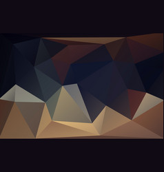Low polygonal dark pastel background vector
