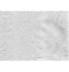 Monochrome fabric retro texture vector