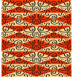 tribal seamless ornament african abstract vector image