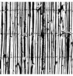 Wattle Fence vector image vector image
