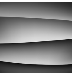 Abstract gray gradient background vector