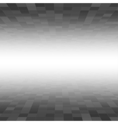 Black Mosaic Tile Square Background Perspective vector image
