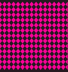 Emo subculture black and bright pink background vector