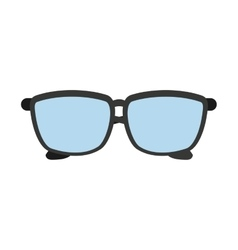 glasses view wear icon vector image