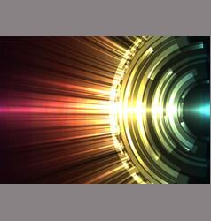 multicolor circle digital blast abstract sheet bac vector image