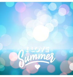 Summer tropical beach background vector image
