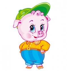 piglet vector image
