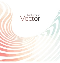 Abstract business background with 3d lines vector