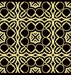 art deco pattern vector image