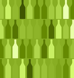 Background Bottles green vector