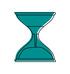 Hourglass or sandglass icon image vector