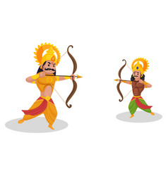 Karna cartoon character vector