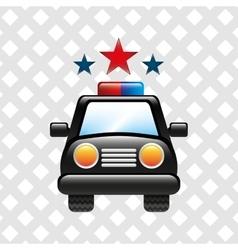 police service design vector image