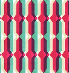 retro geometric seamless texture vector image