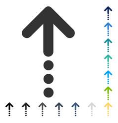Send up icon vector