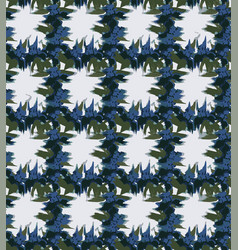 Smudged iris checks seamless pattern vector