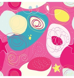 Seamless colorful absract pattern vector image vector image
