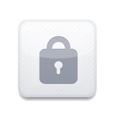 white lock icon Eps10 Easy to edit vector image