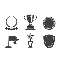 Recognition badges vector image
