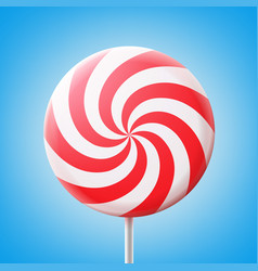 Big spiral lollipop vector