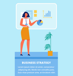 businness training for women businness strategy vector image