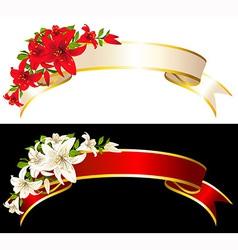 Flowers vector image
