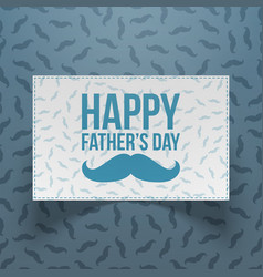 Happy fathers day festive realistic banner vector