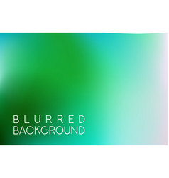 horizontal wide blue green turquoise sea blurred vector image