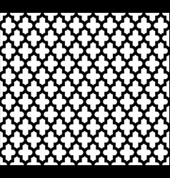 moroccan islamic seamless pattern background in vector image