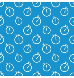 Stopwatch icon pattern vector image