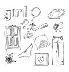 the female membership vector image