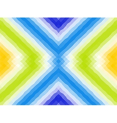 Seamless pattern Polygonal mosaic with bright vector image vector image
