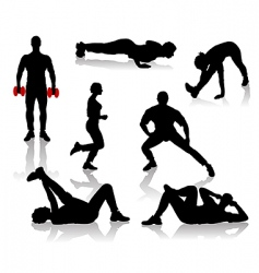 exercise2 vector image vector image