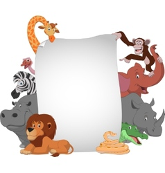 Funny animals vector image vector image