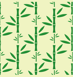 bamboo stem seamless pattern vector image