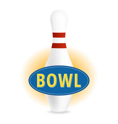 bowl sign vector image
