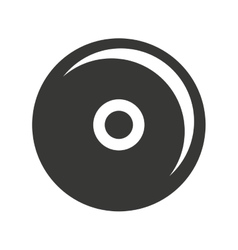 cd player isolated icon design vector image