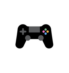 joystick icon design template isolated vector image