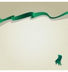 lenta green vector image vector image