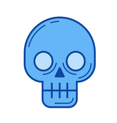 malware line icon vector image