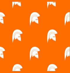 roman helmet pattern seamless vector image