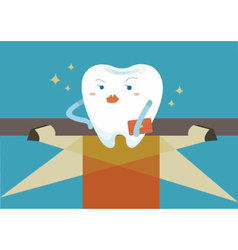 Tooth for super star vector