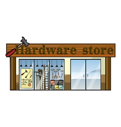 A hardware store vector image vector image