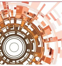 Abstract cirle background vector image vector image