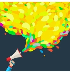 Concept of digital marketing vector image