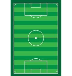 football soccer stadiun vector image