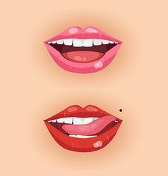 lip3 vector image vector image