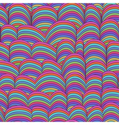 Abstract Hand-drawn Pattern Waves vector