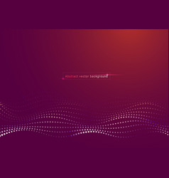 abstract particle background vector image